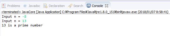 Java - Kiểm tra số nguyên tố
