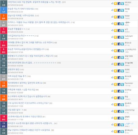코픽 - 커뮤니티 토픽 뉴스 모아보기 1.5.0 screenshot 1120682