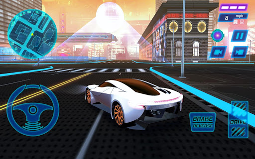 Concept Car Driving Simulator  screenshots 1