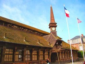 Photo: #011-Le marché d'Etretat.