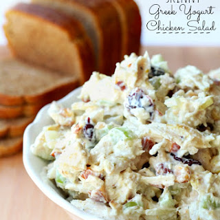 Skinny Greek Yogurt Chicken Salad Recipe