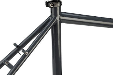"Surly Disc Trucker 26"" Frameset Bituminous Gray or Hi-Vis Black alternate image 1"
