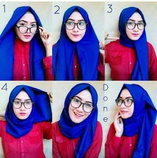 Download Tutorial Hijab Simple Modern For Pc Windows And Mac Apk 2 0 Free Art Design Apps For Android