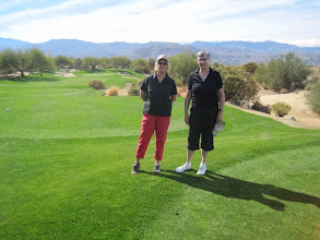 Photo: Jane and Linda at Desert Willow