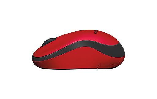 Chuột máy tính Logitech M221 không dây (Đỏ)-4