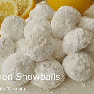 Lemon Snowballs.