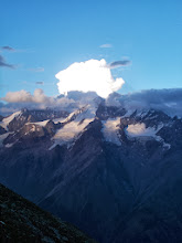 Photo: Clouds from the Weisshorn