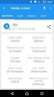 GPS sportovní sledovač - Běh a cyklistika - náhled