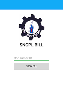 Sui Gas Bill Checker - náhled
