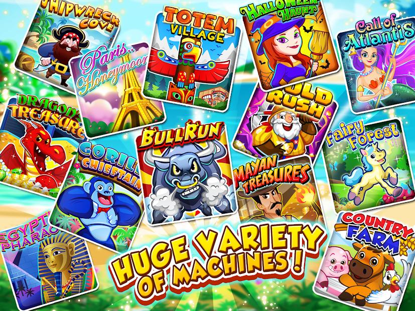 Slots Vacation - FREE Slots Android App Screenshot