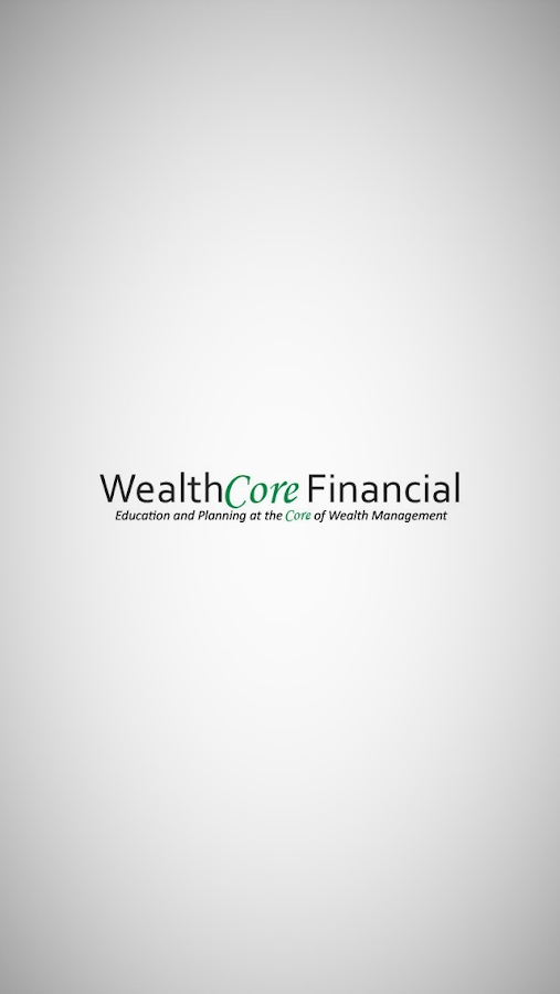 WealthCore Financial- screenshot