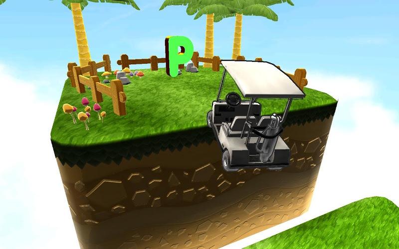 Скриншот Golf Cart Parking Challenge