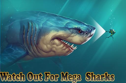 Mega Shark hunting  : Shark Games android2mod screenshots 5