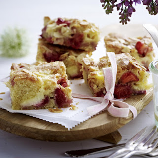 Strawberry and Almond Butter Cake.