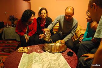 Photo: Otro té planificando las rutas