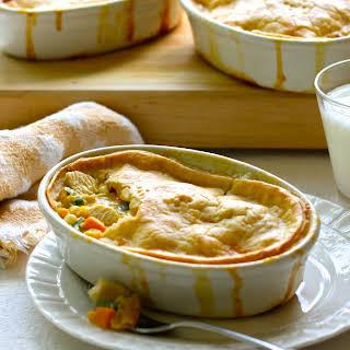 Chicken and Sweet Potato Pot Pie.