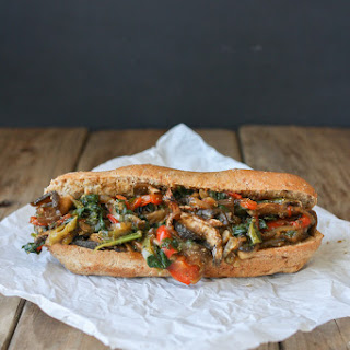 Philly Portobello Steak Sandwich