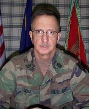 Photo: CSM Genz's command photo