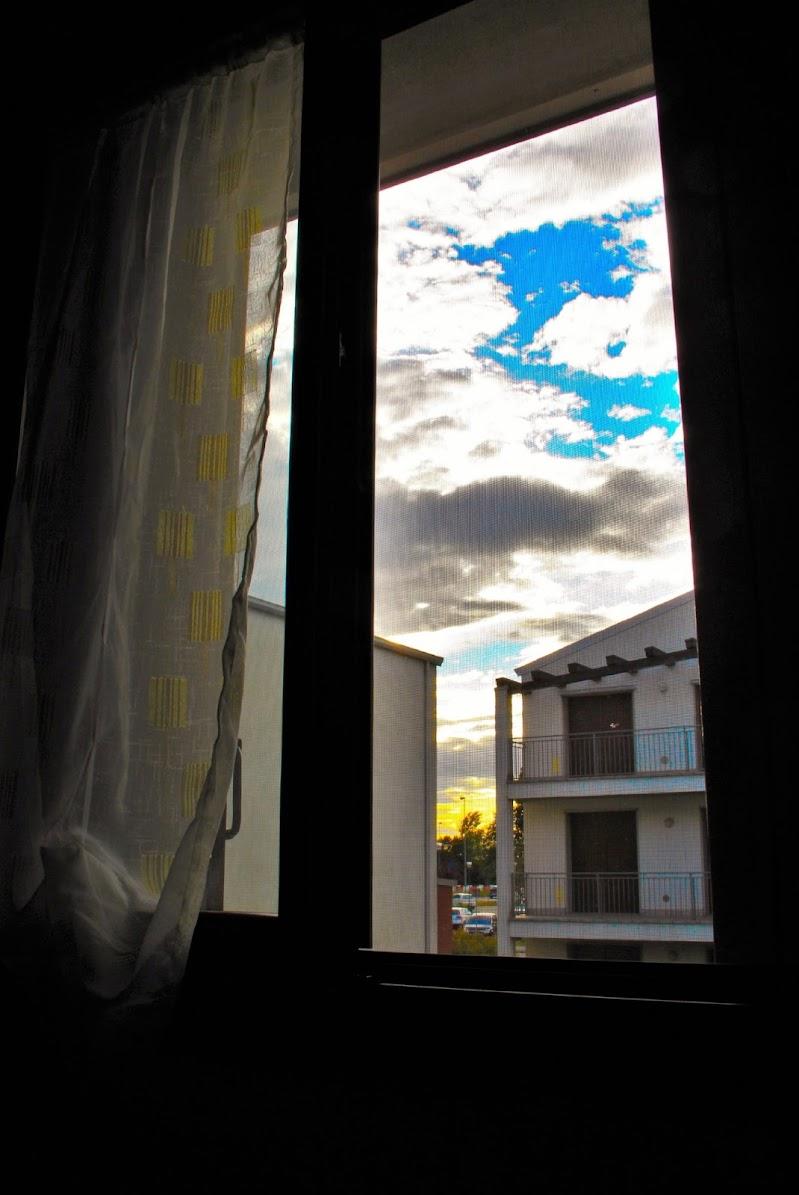 ...semplicemente dalla finestra di Monica