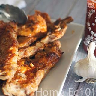 Honey Garlic Sriracha BBQ Sauce Recipe