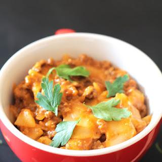 Easy Cheesy One Pot Lasgana Recipe