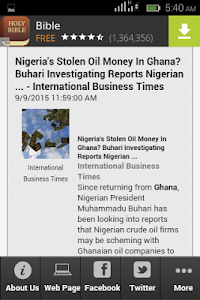 Ghana TV Africa screenshot 2
