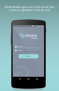 SIGAA Mobile - náhled