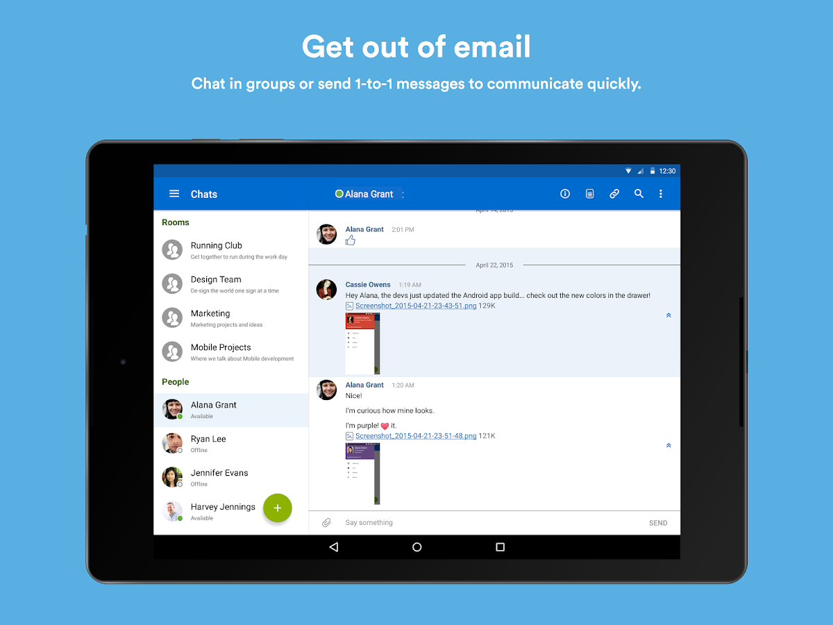 HipChat - Chat Built for Teams- screenshot