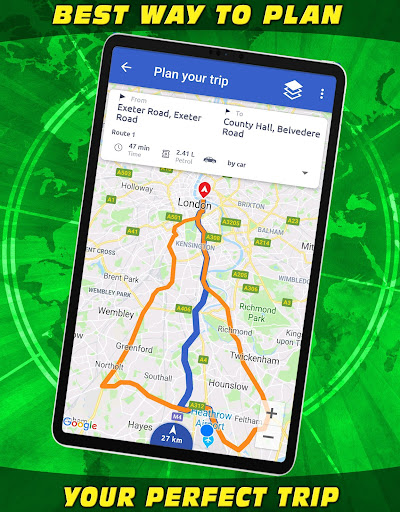 Screenshot for Places Explorer ⭐Local Nearby Finder  Directions in United States Play Store