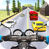 Bike Riders Traffic Moto Racing 3D