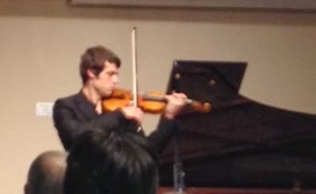 Photo: Alexey Osipov plays Ysaye
