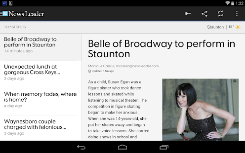 The News Leader - screenshot thumbnail