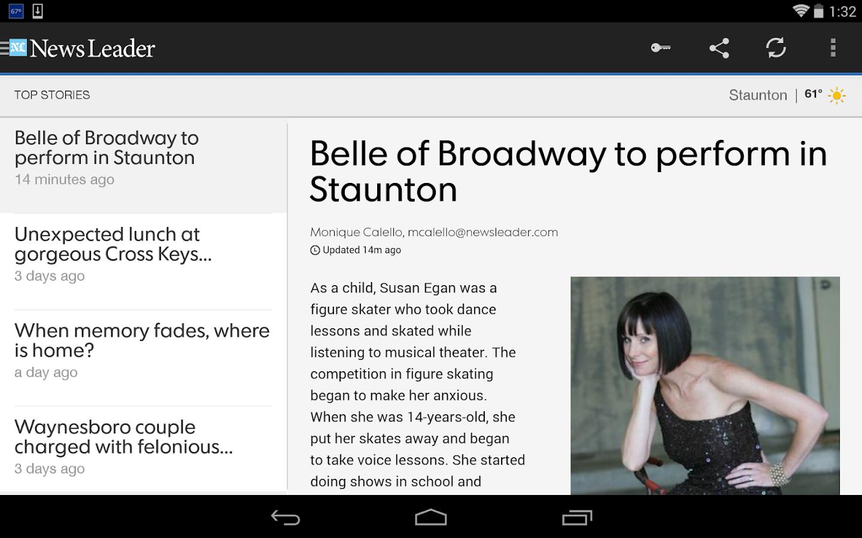 The News Leader - screenshot