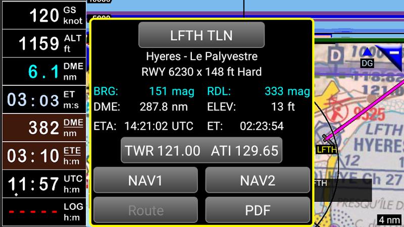 FLY is FUN Aviation Navigation Screenshot 3