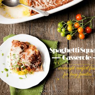 Italian Spaghetti Squash Bake.