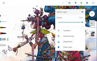 Adobe Photoshop Sketch - screenshot thumbnail 15