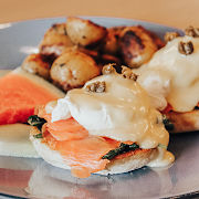 Smoked Trout Benedict