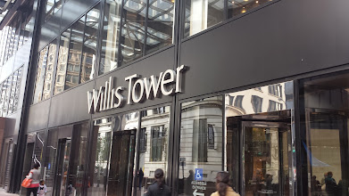 Photo: And, here I am at the Sears Tower (officially renamed the Willis Tower)