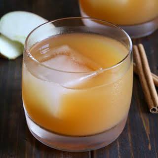 Apple Cider Whiskey Smash.