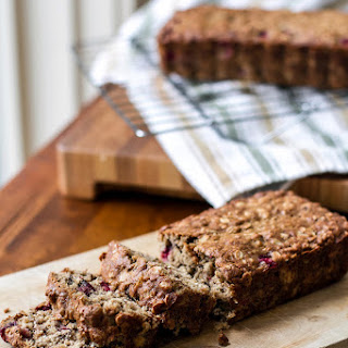 Cranberry Banana Oat Bread