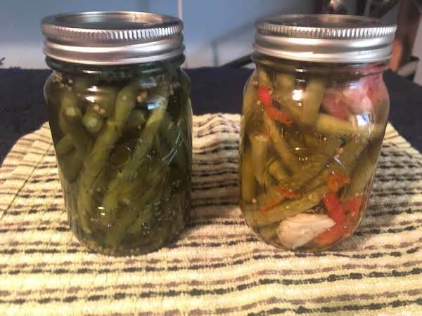 Pickled Dill Spicy Green Beans