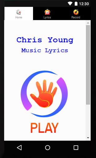 Lyrics Chris Young