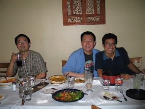 Photo: 18 Ağustos 2006 - SanDisk'de staj yaparken, ilk müdürüm Po ile.