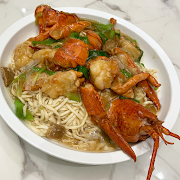 L19. Braised E-Fu Noodles with Lobster 龍蝦伊麵