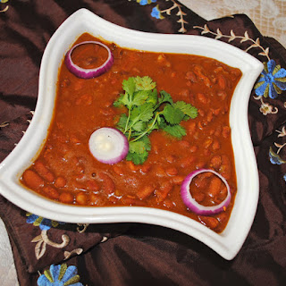 Rajma Curry (Red Kidney Beans Curry).