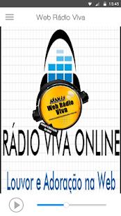 Web Rádio Viva - náhled