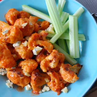 Buffalo Cauliflower Bites.