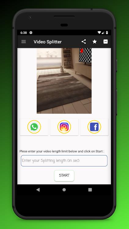 Status Video Splitter Saver Whatsapp Facebook