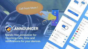 Announcer+ : Caller Name, Notification, SMS Reader