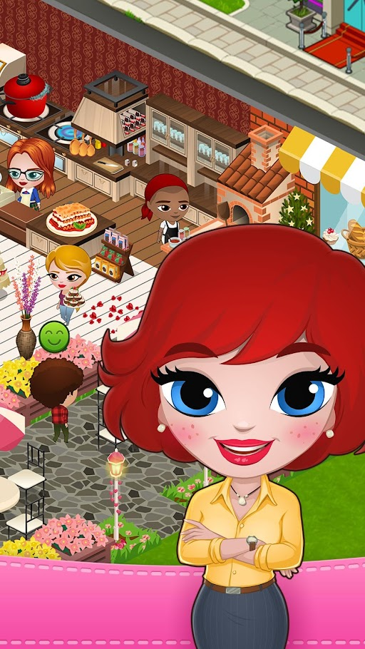 Cafeland - World Kitchen APK 1.8.8 screenshots 2